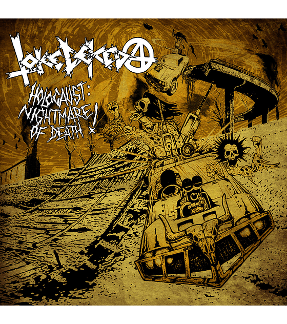 Toke de keda · Holocaust: Nightmare Of Death! Lp