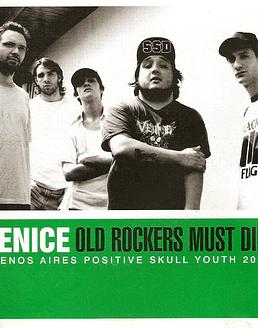 Venice · Old Rockers Must Die! CD
