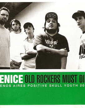 Venice · Old Rockers Must Die! Cd