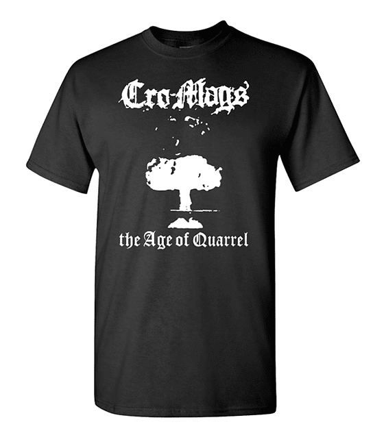 Polera Cro-Mags · The Age Of Quarrel