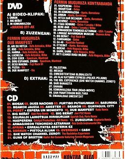 Fermin Muguruza: 99-04 DVD+CD