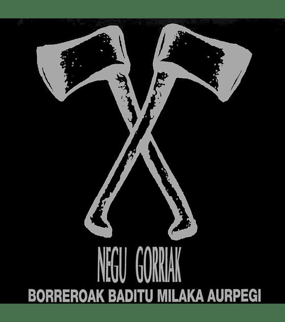 Negu Gorriak · Borreroak Baditu Milaka Aurpegi LPx2 12''