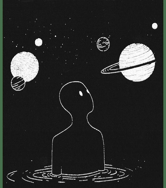 Parche Serigrafia · Hombre y Planetas
