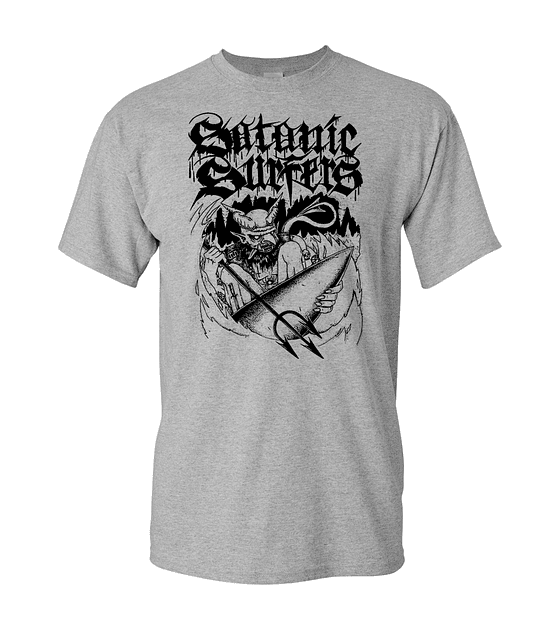 Polera Satanic Surfers