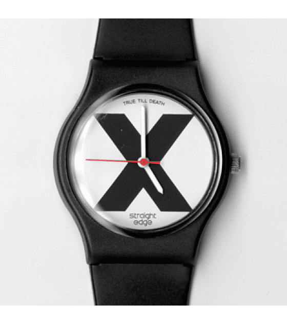 Reloj Straight Edge - X Watch