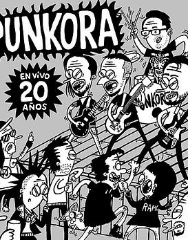 Punkora · En Vivo, 20 años CD