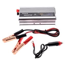 Inversor de Voltaje Corriente 1000W 12V a 220V Bat 579-003