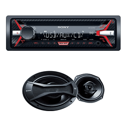 Receptor SONY  multimedia con USB CXSG11769U/Q1 E PAR AAUDO
