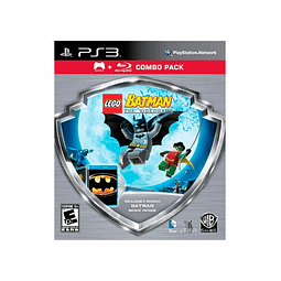 LEGO BATMAN + BATMAN MOVIE COMBO PACK PS3