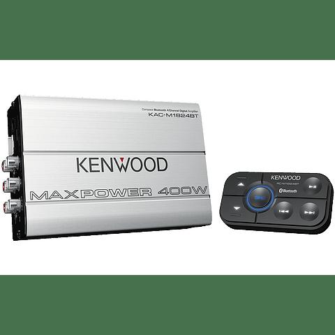 KENWOOD AMPLIFICADOR 4 CANALES MARINO KAC-M1824BT