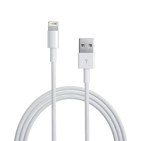 Apple Cable de Datos Original 1 MT Blanco en Caja