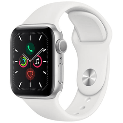 Apple Watch Series 5 40mm MWV62LL / A A2092 – Plateado / Blanco