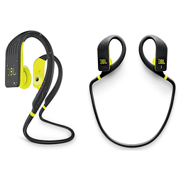 Audifono Bluetooth Endurance JUMP Amarillo/Negro