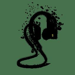 Audifono Contra Agua JBL Endurance Dive Negro