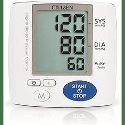 Citizen CH-617 Medidor de Presión Arterial, blanco/azul