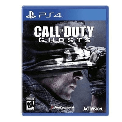 CALL OF DUTY GHOSTS HARDENED EDITION PS4 SKU: 047875848399