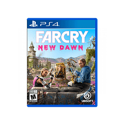 FAR CRY NEW DAWN PS4 SKU: 887256039028