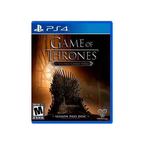 GAME OF THRONES A TELLTALE GAMES SERIES PS4 SKU: 894515001641