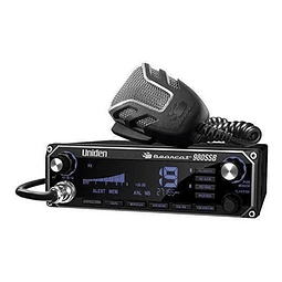 Base Radio Con Intercomunicador Uniden Bearcat 980ssb 40ch.