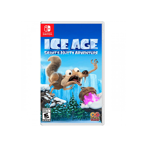 ICE AGE: SCRATTS NUTTY ADVENTURE SWITCH