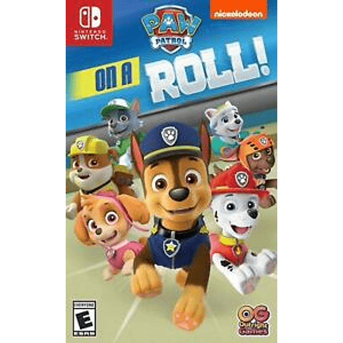 Paw Patrol On a Roll,  819338020204