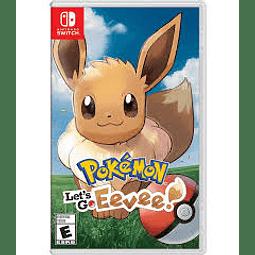 Juego Nintendo Pokemon Lets Go Eevee