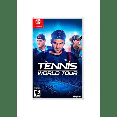 TENNIS WORLD TOUR SWITCH SKU: 814290014438
