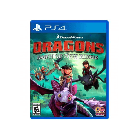 👀 ENTREGA 04-08-20  DRAGONS DAWN OF THE NEW RIDERS PS4 SKU: 819338020631