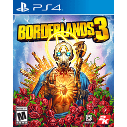 BORDERLANDS 3 PARA PLAYSTATION 4   17+