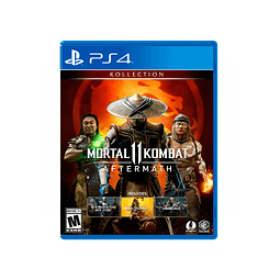MORTAL KOMBAT 11 AFTERMATH KOLLECTION PS4