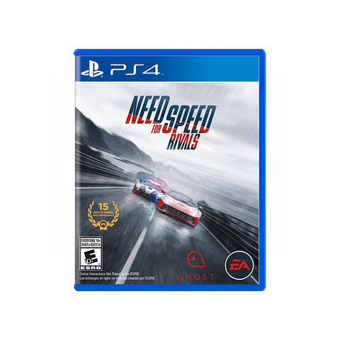 NEED FOR SPEED RIVALS PS4 SKU: 014633730623
