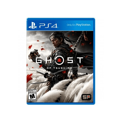 GHOST OF TSUSHIMA PS4 SKU: 711719518945
