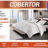 Cobertor King blanco infusion cobre
