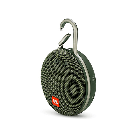 PARLANTE JBL CLIP 3, COLOR VERDE BLUETOOTH