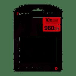 "Unidad SSD Kingston SSDNow A400 960GB, 2.5"", Lectura 500MB/s Escritura 450MB/s"