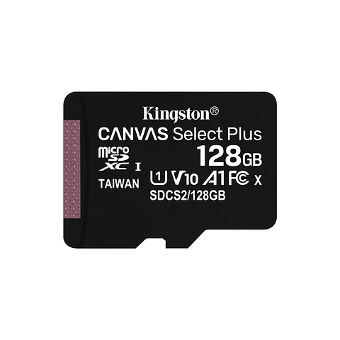 Kingston Memoria MicroSDXC 128GB Canvas Select Plus 100R/85R, Class 10 UHS-I