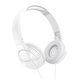 Audífonos con cable Pioneer On Ear SE-MJ503 Blanco