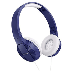 Audífonos con cable Pioneer On Ear SE-MJ503 Azul