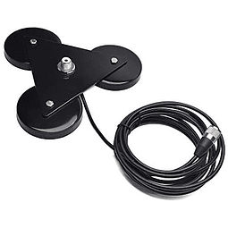 Antenna Magnetica Mount con 5M Coaxial Cable para HF/VHF/UHF/CB  TA-S90