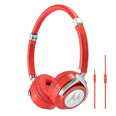 Audífonos Motorola Pulse 2 On Ear Sh005 con cable