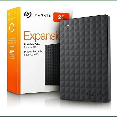 Disco Duro Ext. Seagate 2tb Usb 3.0 2.5 Expansion