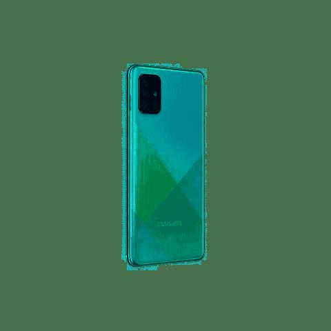 Telefono celular Samsung A71F  128GB Dual Sim COLOR AZUL + MEMORIA 32GB REGALO
