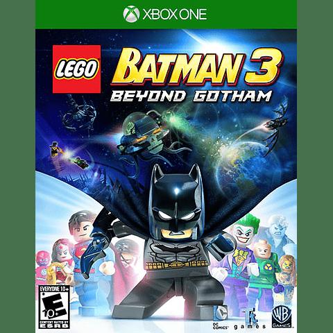JUEGO XBOX ONE BATMAN 3 BEYOND GOTHAM
