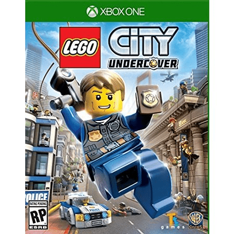 JUEGO XBOX ONE LEGO CITY UNDERCOVER