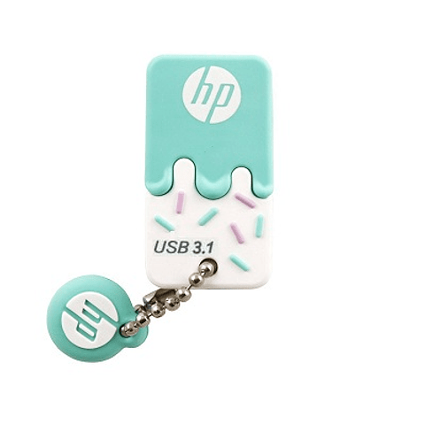 HP | PEN DRIVE HP X778W 32GB USB 3.1 C/TAPA VERDE