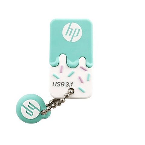 HP | PEN DRIVE HP X778W 64GB USB 3.1 C/TAPA VERDE