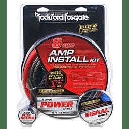 Rockford Fosgate RFK8i 8-gauge amplifier power and signal wiring kit