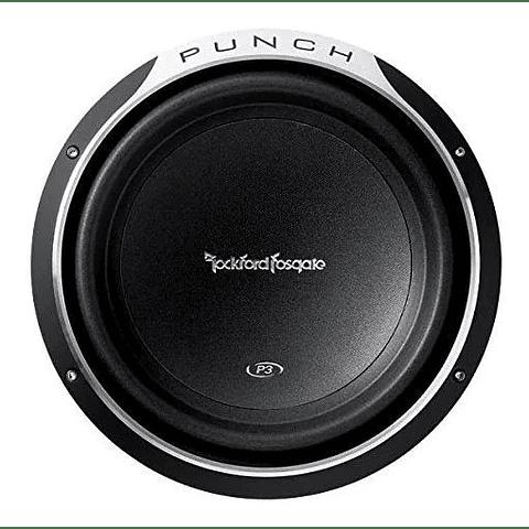 Rockford Fosgate P3d2-12 Punch P3 Dvc 2 Ohm 12 Pulgadas 600