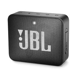 Parlante Bluetooth JBL GO2 NEGRO (estuche regalo)