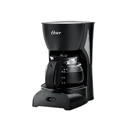Cafetera Oster negra de 4 tazas práctica y fácil de usar CDR5B